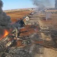 Az Orosz Légierő megbénította az ISIS terrorszervezet olajszállítmányait Kelet-Homszban