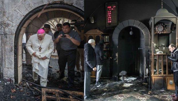 Zsidó telepesek 58 templomot és mecsetet gyújtottak fel Palesztinában