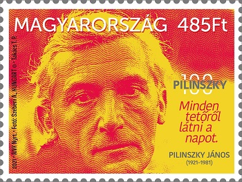Pilinszky 100 – postai bélyeg