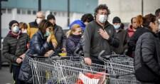 Kiürültek a polcok Milánóban