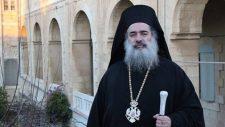 Izrael könnygázzal támadt a palesztin ortodox püspökre