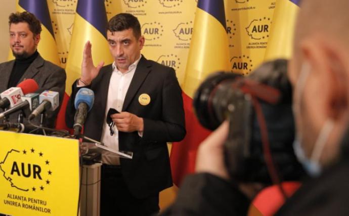 Az AUR szövetségre lépne az RMDSZ-szel az ukrajnai románok és magyarok védelmében