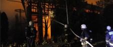 Hatamas tűz ütött ki Budán: leégett a Testnevelési Egyetem atlétikai csarnoka