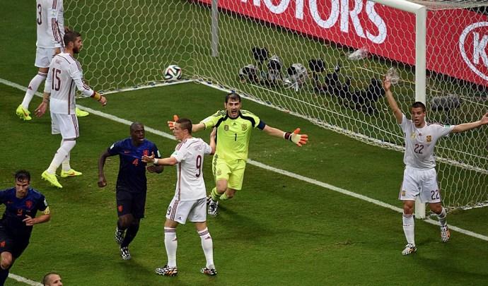 Egy spanyol jól keresett a hollandok elleni vereségen