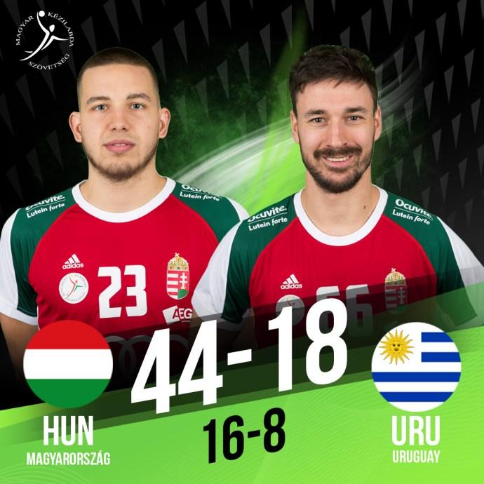 Újra győzelmet aratott Magyarország, az egyiptomi férfi kézilabda-világbajnokságon.