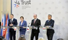 Kiálltak Magyarország mellett a visegrádi kormányfők
