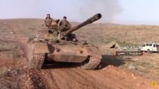 Ötven kilométerre vannak a szíriai kormányerők az iraki határtól (képek, videó)