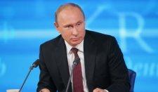 Putyin elnök nagy sajtótájékoztatója