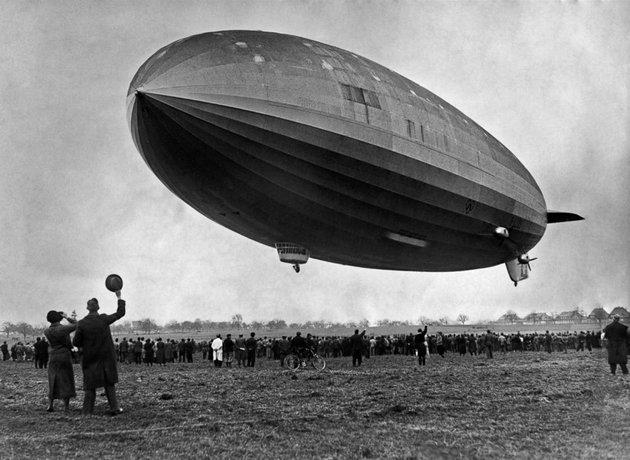 Hatalmas látványosság volt, amikor 1931 tavaszán feltűnt Budapest egén a Zeppelin