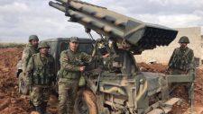 A szíriai tüzérség ismét a megszálló török hadsereg állásait lőtte