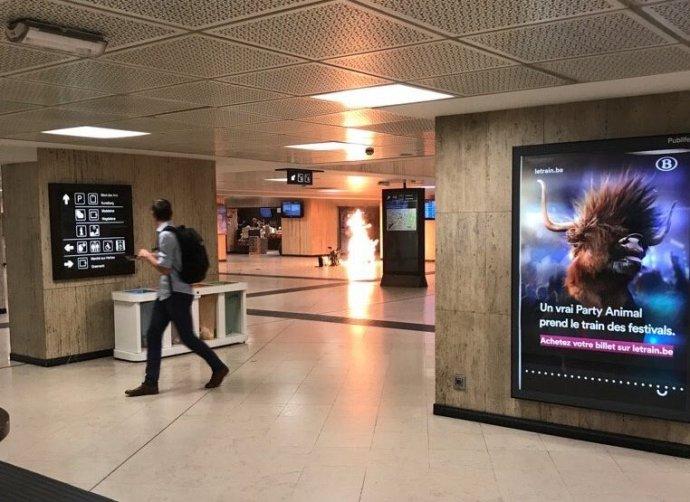 Terrortámadás-kísérlet Brüsszelben