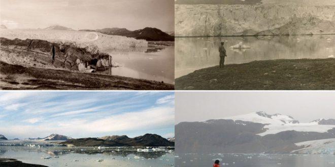 7 régi és új fotó a klímaváltozás hatásáról megdöbbent mindenkit