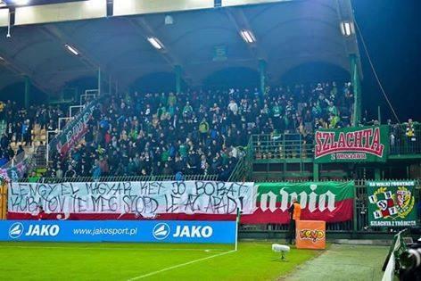 Az MLSZ már egy lengyel csapatot is megbüntetett volna, de nem jött össze (18+)