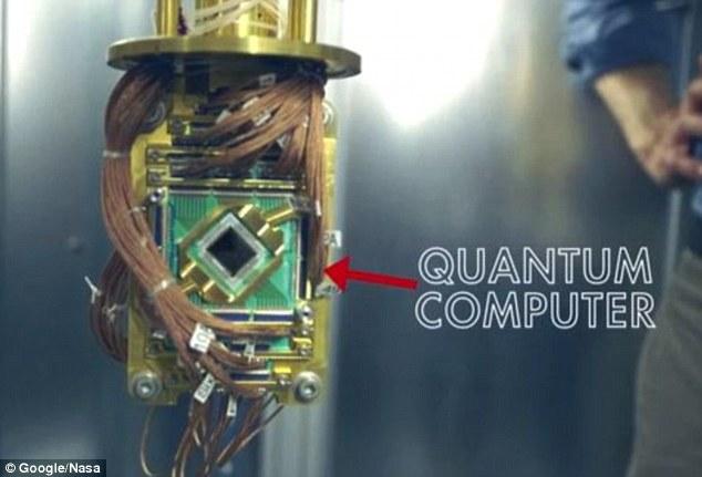"""A Google létrehozza a világ legerősebb számítógépét, a NASA """"véletlenül elkottyantja"""""""