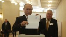 Oroszországi elnökválasztás: rekord magas a részvételi arány