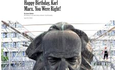 """""""Boldog születésnapot, Karl Marx! Igaza volt!"""""""