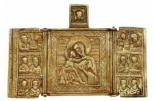 Mária-ikonok a Gellért-hegy mélyén