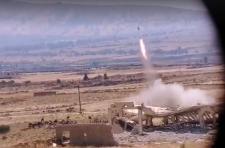 A Szíriai Arab Hadsereg izraeli tisztek és vahabita terroristák találkozóhelyére mért tüzérségi csapást