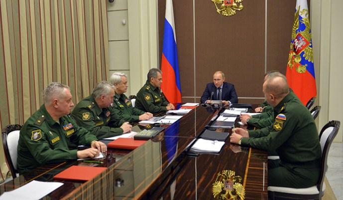 Putyin: Oroszország nem fog geopolitikai intrikákban részt venni