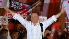 Biztossá vált Andrzej Duda győzelme