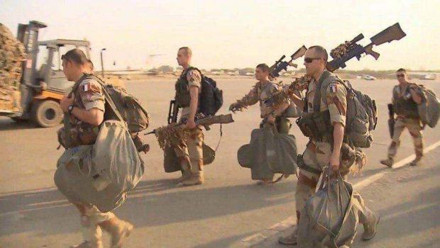 A francia csapatok kivonulnak Irakból