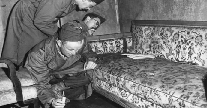 A Führerbunkerről hét évtizeden át egy asztalfiókban hevertek ezek a fényképek
