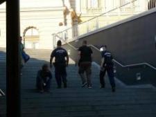 Félelemkeltés: nem a migránsokat, hanem a helyzetet vizsgáló hazafit állították elő
