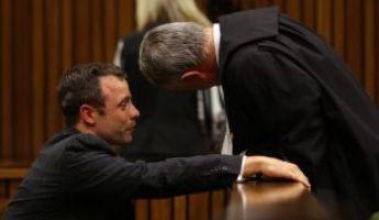 Összeomlott a tárgyalásán Pistorius