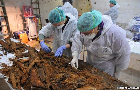 Biztosan a Don Quijote szerzőjének csontjait találták meg Madridban