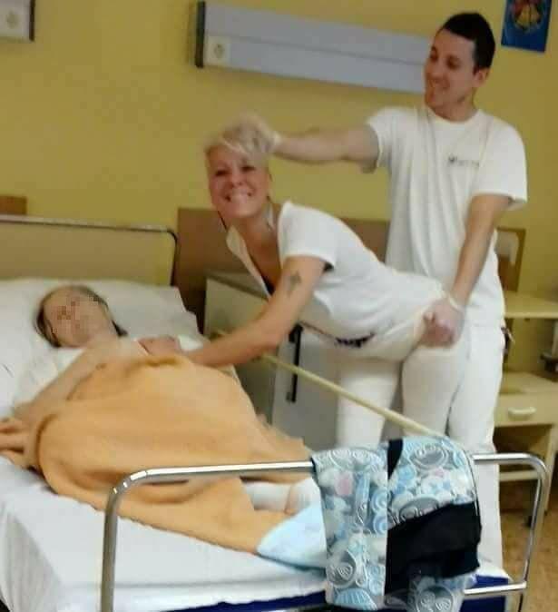 Beteg néni mellett imitálták az üzekedést egy pécsi szeretetotthon ápolói