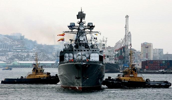 A Varjag vezette hajóraj visszatért Vlagyivosztokba