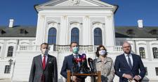 Így osztották le a lapokat: Matovič bejelentette az államfőnek a minisztériumok elosztását