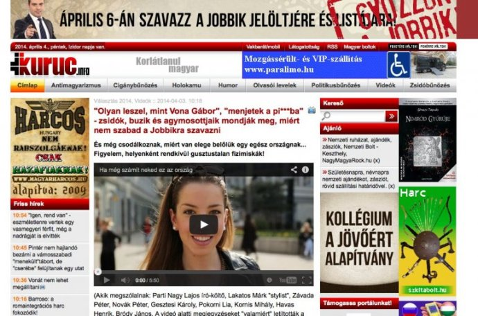 """""""Neonácik letiltattak egy Jobbik-ellenes Facebook-oldalt"""""""