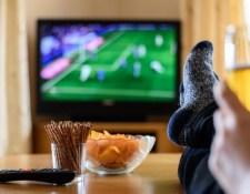 Blacburn–Wigan meccs a tévében