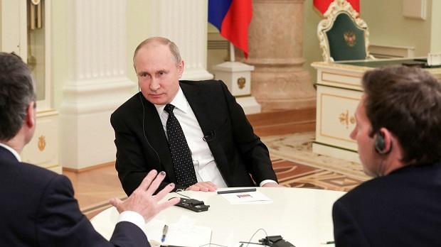 A liberálisok terve elbukott Nyugaton- interjú Putyin elnökkel