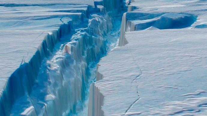 Egy Alacsony-Tátra nagyságú jégtábla szakadt le az Antarktisztól