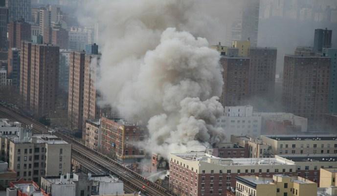 New York központjában robbanás dördült