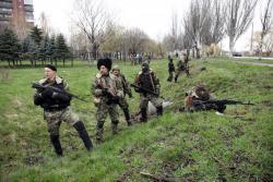 Lakóházakat lövi az ukrán tüzérség