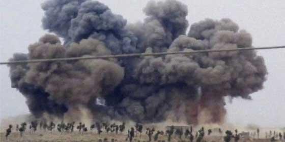 Folyamatosan bombáznak az oroszok Szíriában