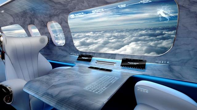 Alapjaiban változtatnák meg a repülőgépek belsejét – Íme, a képek arról, ahogy az ablakok is eltűnnek
