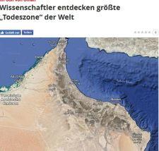 """Negatív  """"szenzációk"""" röviden – Kezdés: létrejött a világ első totálisan halott tengeri zónája"""