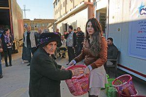 Irak: CSI segély a hazatérő családoknak