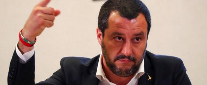 Salvini nem kispályázik!