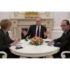 Közös nyilatkozat nélkül ért véget a német-francia-orosz csúcs