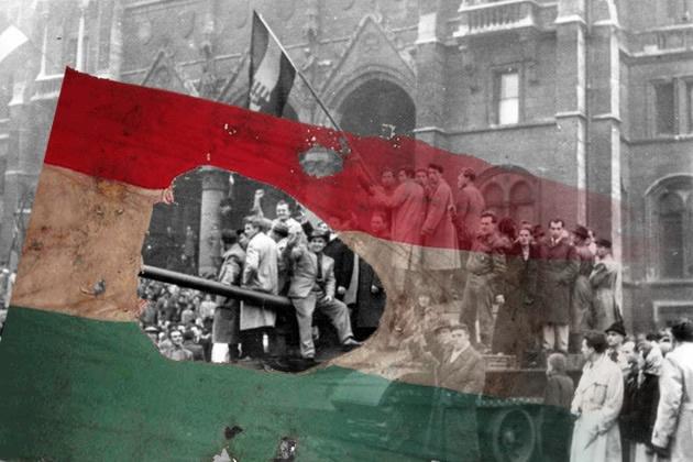 1956-ra emlékezete: Falfestmény Londonban (videó)