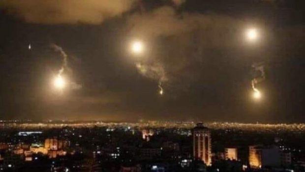 Az izraeli rakéták többségét megsemmisítette a szíriai légvédelem (videó)