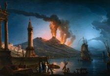 Apokaliptikus jelenetek játszódtak le Pompeji utcáin a Vezúv kitörése után