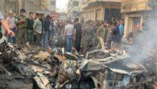 Bomba robbant egy szíriai templom előtt (videó)