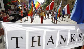 Feljelentés a homoszexuális-meneten történtek miatt
