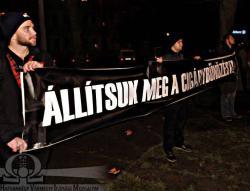 300-an tüntettek Nagykátán a cigánybűnözés ellen (képgaléria, videó hamarosan)